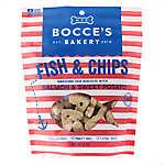Bocce's Bakery Fish & Chips Dog Treat - Natural, Salmon & Sweet Potato