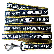 Milwaukee Brewers MLB Dog Leash