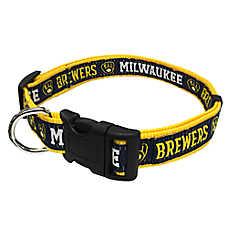 Milwaukee Brewers MLB Dog Collar