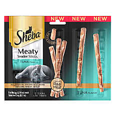 SHEBA® Meaty Tender Sticks Cat Treat - Tuna