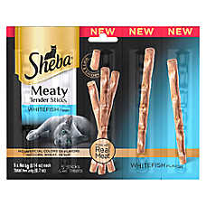SHEBA® Meaty Tender Sticks Cat Treat - Whitefish