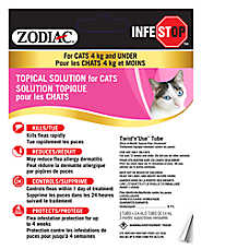 Zodiac Infestop Cat Topical Solution