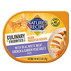 Nature's Recipe® Culinary Favorites Roasted Cat Food - Natural, Chicken & Vegetables