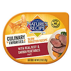 Nature's Recipe® Culinary Favorites Roasted Cat Food - Natural, Beef & Vegetables