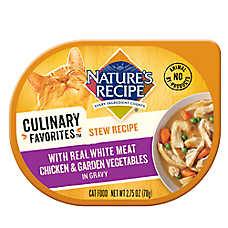 Nature's Recipe® Culinary Favorites Stew Recipe Cat Food - Natural, Chicken & Vegetables