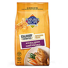 Nature's Recipe® Culinary Favorites Rotisserie Adult Cat Food - Natural, Chicken & Vegetables