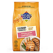 Nature's Recipe® Culinary Favorites Grilled Adult Cat Food - Salmon & Vegetables