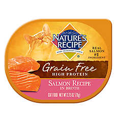 Nature's Recipe® Grain Free Cat Food - Salmon