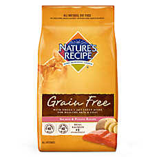 Nature's Recipe® Grain Free Cat Food - Natural, Salmon & Potato