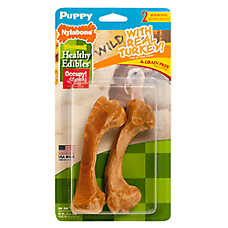 Nylabone® Healthy Edibles® Puppy Treat - Grain Free, Natural, Wild Turkey