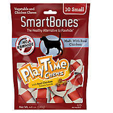 SmartBones® PlayTime Chews Small Dog Treat - Chicken