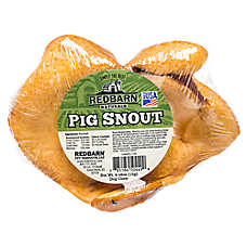 Redbarn Naturals Pig Snout Dog Treat