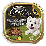 Cesar® Home Delights™ Dog Food - Grilled New York Strip Steak, Potatoes & Vegetables
