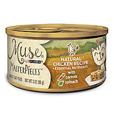 Muse® MasterPieces Adult Cat Food - Essential Nutrients, Natural Chicken