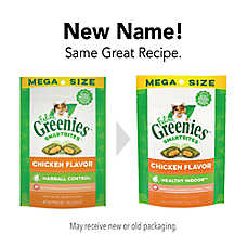 GREENIES® SmartBites Hairball Control Cat Treat - Chicken