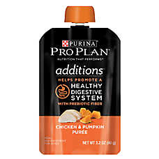 Purina® Pro Plan® Additions Meal Enhancement Dog Food Mixer - Chicken & Pumpkin, Healthy Digestion