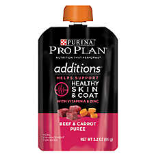 Purina® Pro Plan® Additions Meal Enhancement Dog Food Mixer - Beef & Carrot, Healthy Skln & Coat