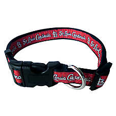 St. Louis Cardinals MLB Dog Collar