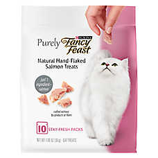 Purely Fancy Feast® Cat Treat - Natural, Salmon