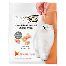 Purely Fancy Feast® Cat Treat - Natural, Chicken