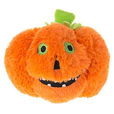 Thrills & Chills™ Pet Halloween Pumpkin Dog Toy