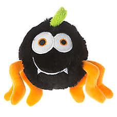 Thrills & Chills™ Pet Halloween Spider Plush Dog Toy