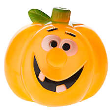 Thrills & Chills™ Pet Halloween Sily-Lu Pumpkin Dog Toy