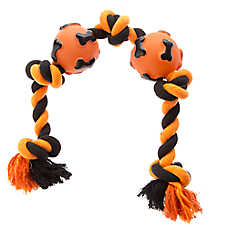 Thrills & Chills™ Pet Halloween 5 Knot Rope Dog Toy