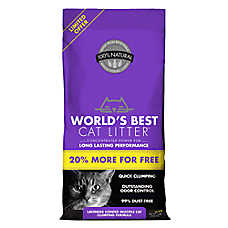 World's Best Cat Litter™ - Clumping, Multiple Cat, Lavender