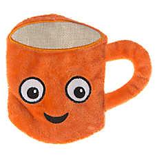 Top Paw® Flattie Coffee Dog Toy