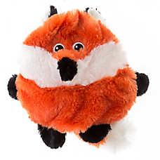 Top Paw® Round Fox Squeaker Dog Toy