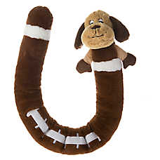 Top Paw® Long Body Football Plush Dog Toy