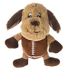 Top Paw® Football Dog Plush Dog Toy