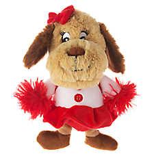 Top Paw® Cheerleader Plush Dog Toy