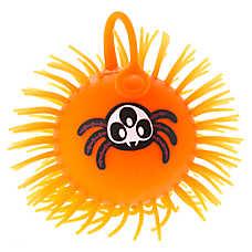 Thrills & Chills™ Pet Halloween Stretch Ball Spider Cat Toy