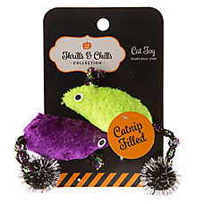 Thrisll & Chills™ Pet Halloween 2-Pack Laying Mice Cat Toy