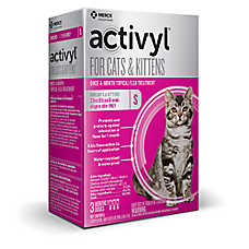 Activyl Cat 2-9 Lb Flea & Tick Cat Treatment