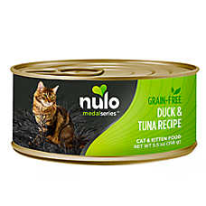 Nulo MedalSeries Cat & Kitten Food - Grain Free, Duck & Tuna