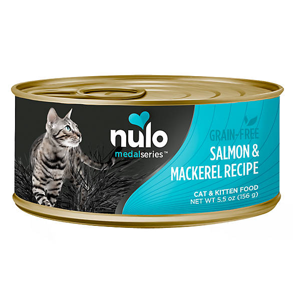 Nulo MedalSeries Cat & Kitten Food - Grain Free, Salmon ...