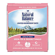 Natural Balance Limited Ingredient Diets Cat Food - Grain Free, Green Pea & Salmon