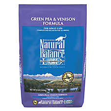 Natural Balance Limited Ingredients Diet Adult Cat Food - Grain Free, Green Pea & Venison