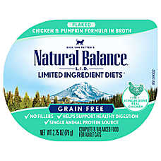 Natural Balance Limited Ingredient Diets Adult Cat Food - Grain Free, Chicken & Pumpkin