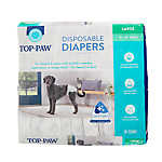 Top Paw® Disposable Dog Diapers