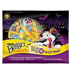 Beggin' Strips® Halloween Grab and Go Dog Treat - Value Pack
