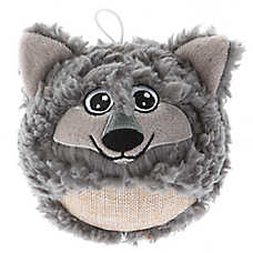 Top Paw® Sherpa Wolf Dog Toy