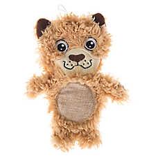 Top Paw® Flattie Sherpa Mountain Lion Dog Toy