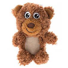 Top Paw® Plush Sherpa Bear Dog Toy
