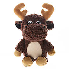 Top Paw® Plush Sherpa Moose Dog Toy