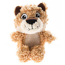 Top Paw® Plush Sherpa Mountain Lion Dog Toy