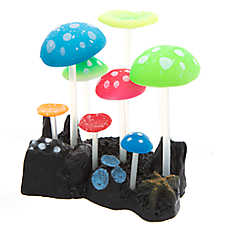 Top Fin® Multicolor Mushrooms Aquarium Ornament